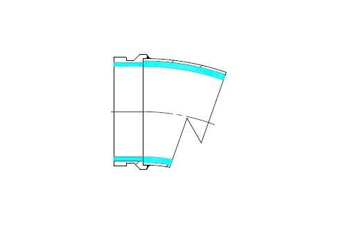 Codo doble capa
